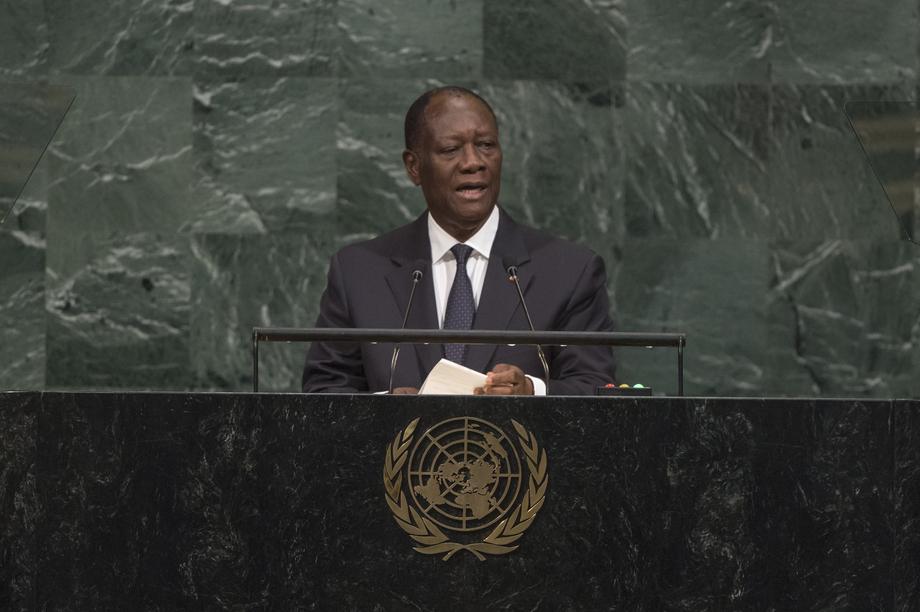H.E. Mr.Alassane Ouattara