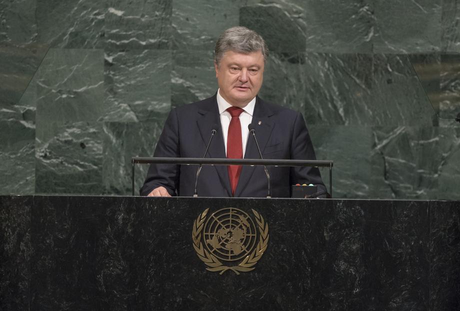 H.E. Mr. Petro Poroshenko