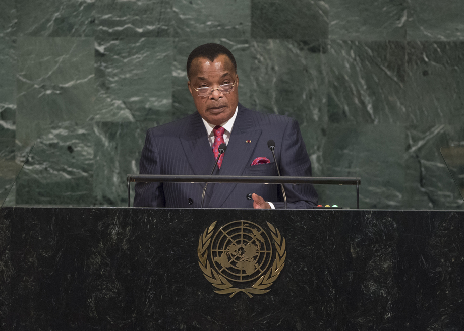 H.E. Mr.Denis Sassou Nguesso