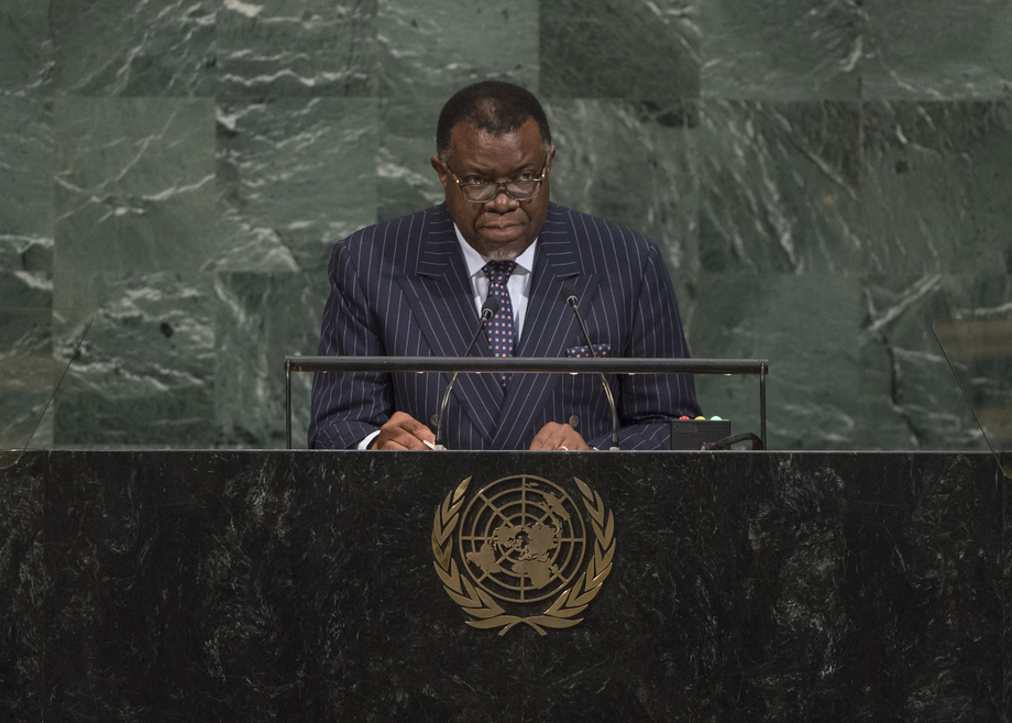 H.E. Mr.Hage Geingob