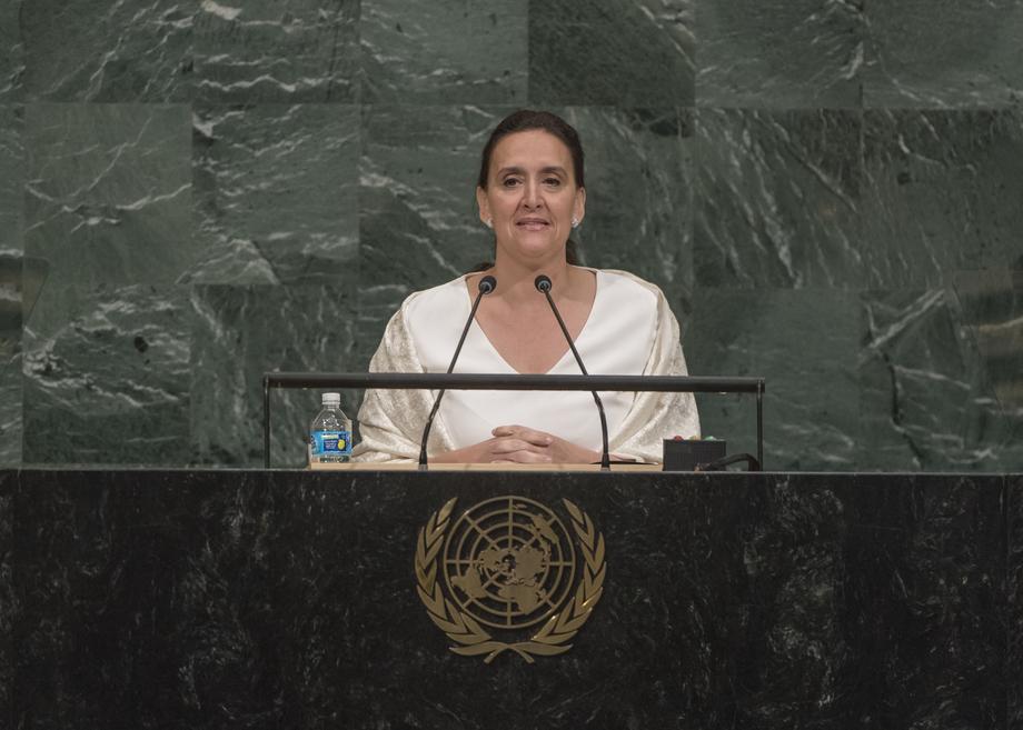 S.E. Mme Marta Gabriela Michetti Illia
