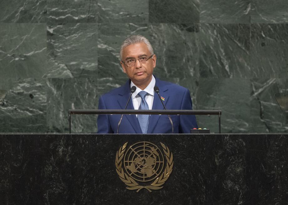 H.E. Mr.Pravind Kumar Jugnauth