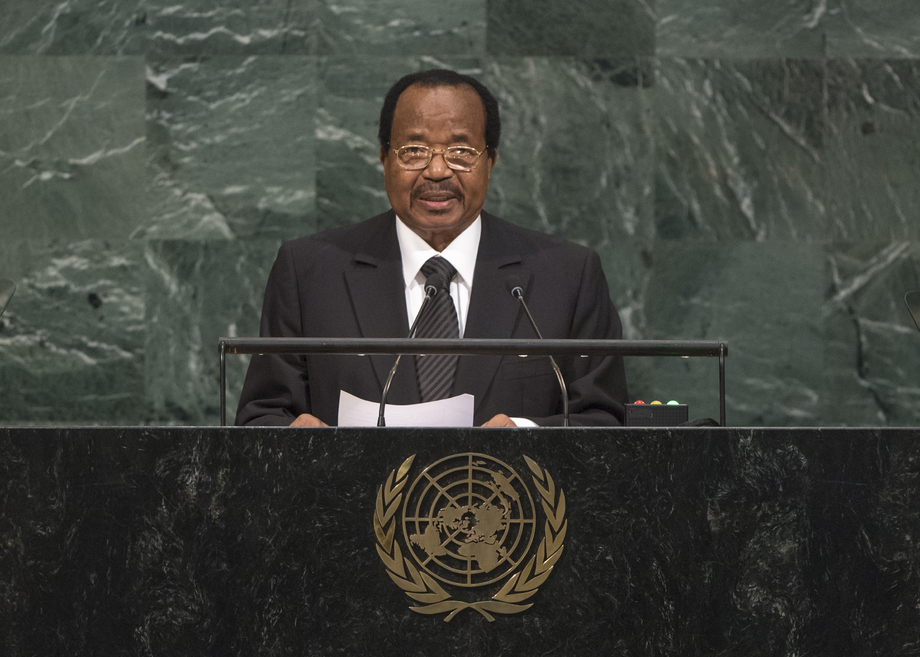 H.E. Mr.Paul Biya