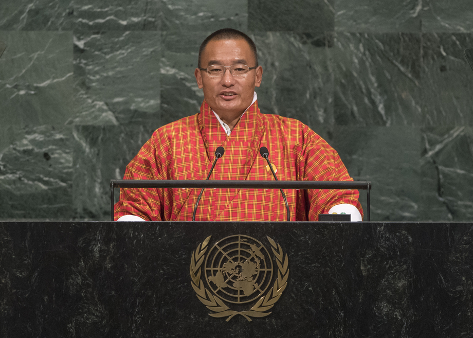 H.E. Mr.Dasho Tshering Tobgay