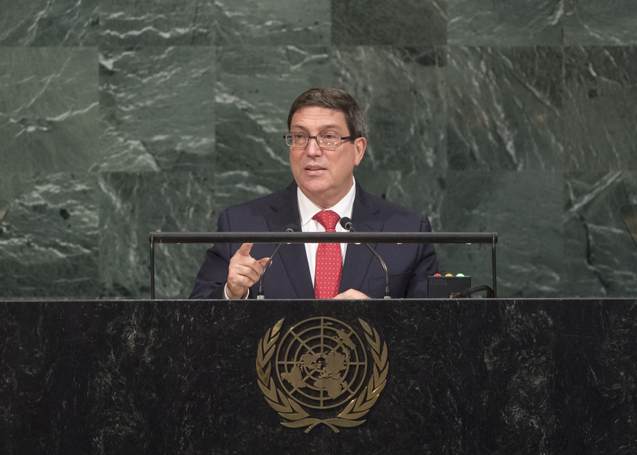 H.E. Mr.Bruno Rodríguez Parrilla