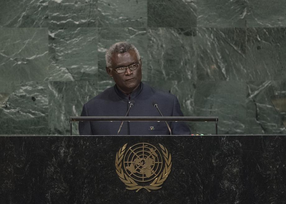 H.E. Mr.Manasseh Damukana Sogavare