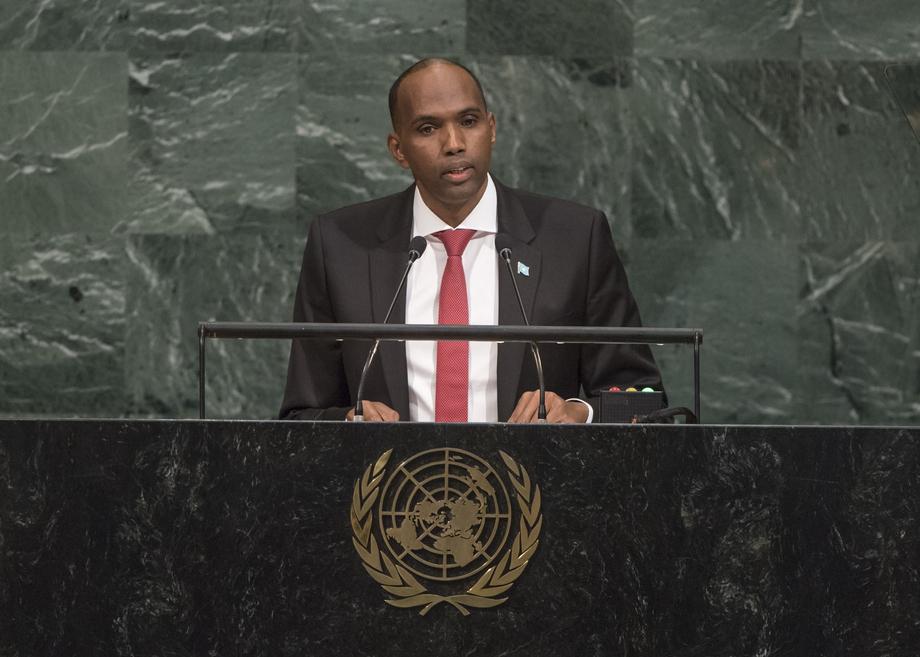 S.E. M.Hassan Ali Khaire