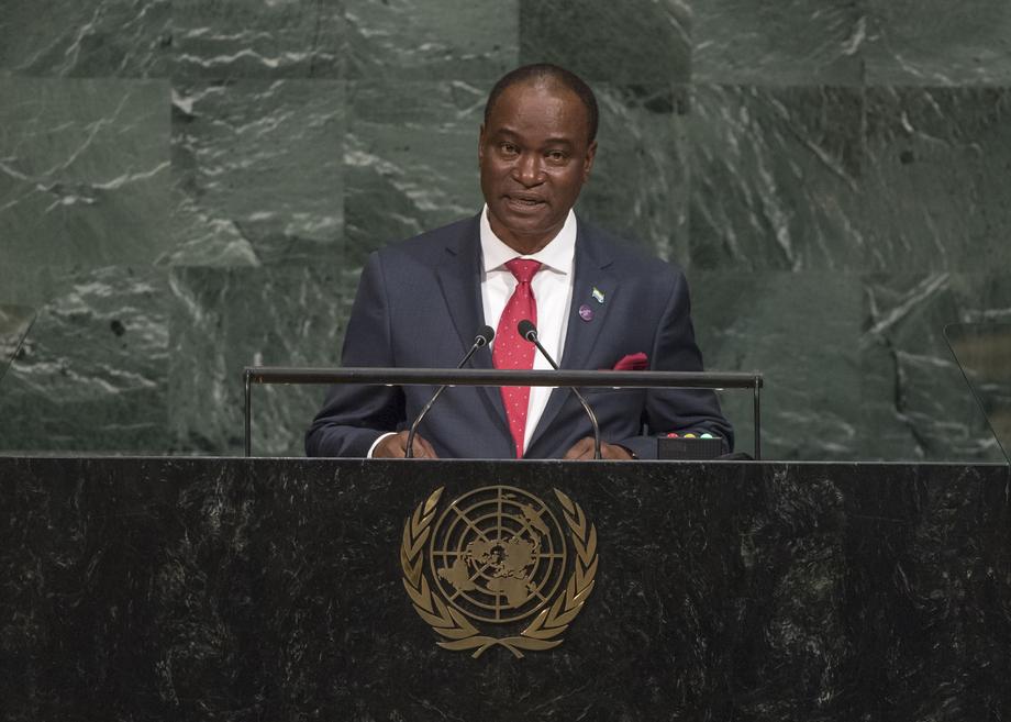 H.E. Mr.Samura Matthew Wilson Kamara