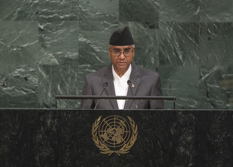 H.E. Mr.Sher Bahadur Deuba