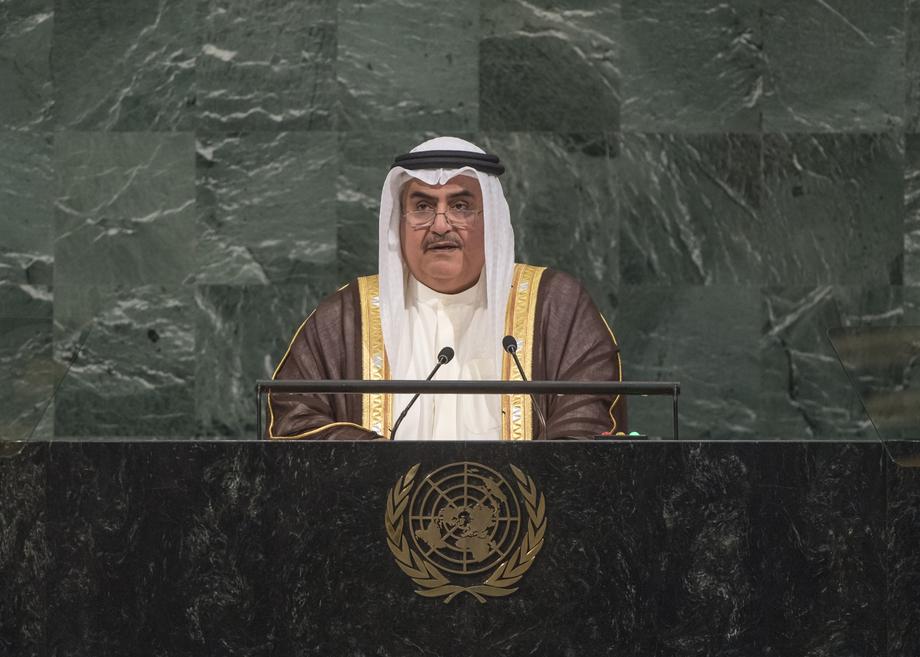 H.E. Mr.Shaikh Khalid Bin Ahmed Bin Mohamed Al Khalifa