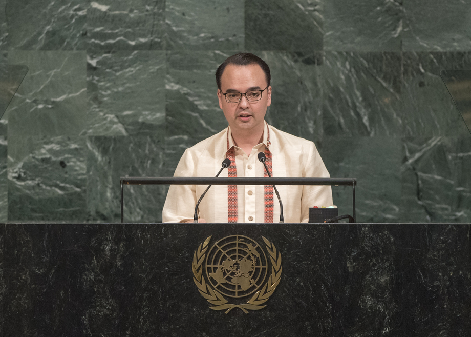 H.E. Mr.Alan Peter S. Cayetano