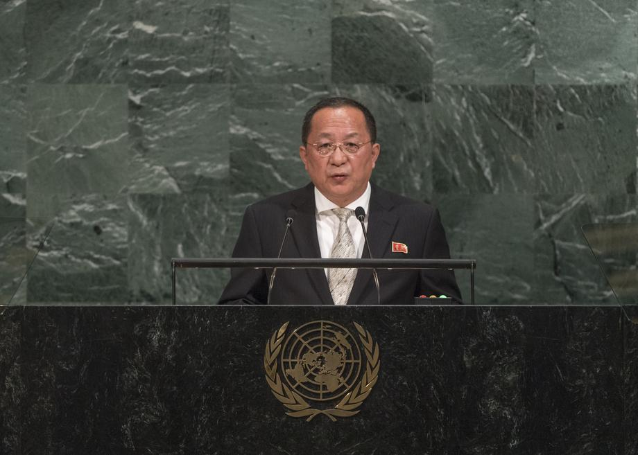 H.E. Mr.Ri Yong Ho