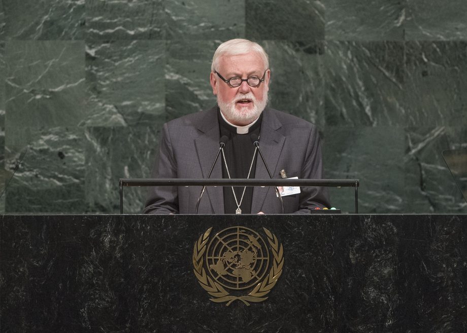 H.E. ArchbishopPaul Richard Gallagher
