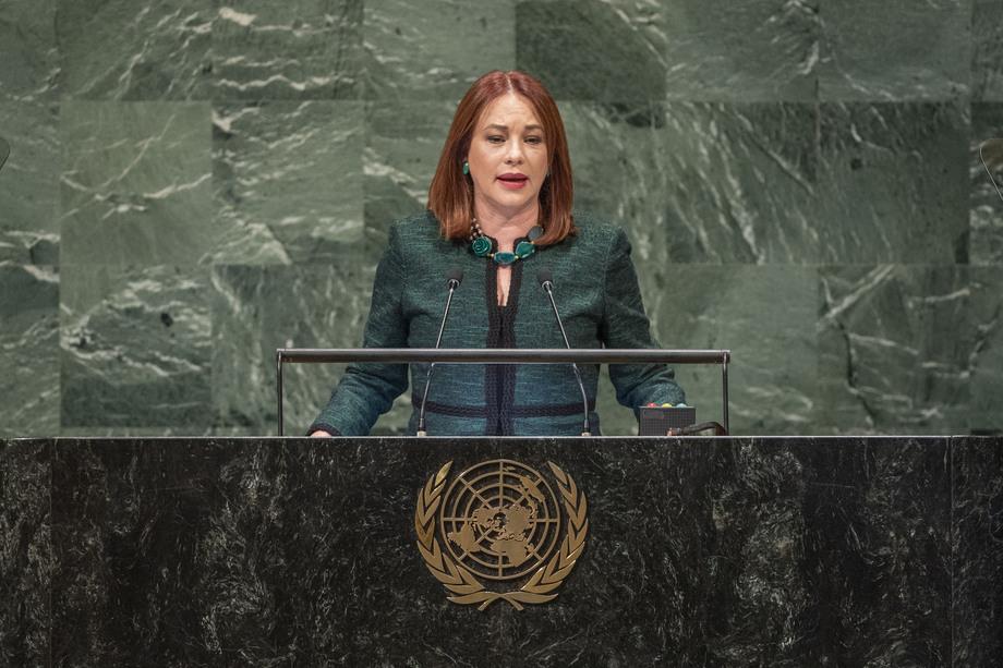 H.E. Ms.María Fernanda Espinosa Garcés