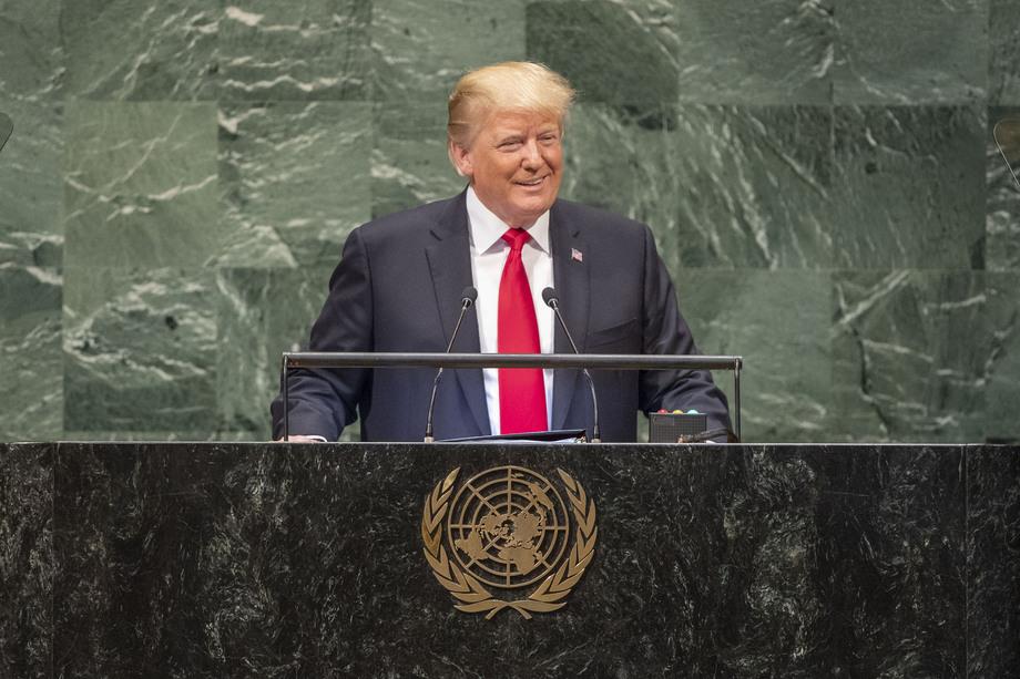 S.E. M.Donald Trump