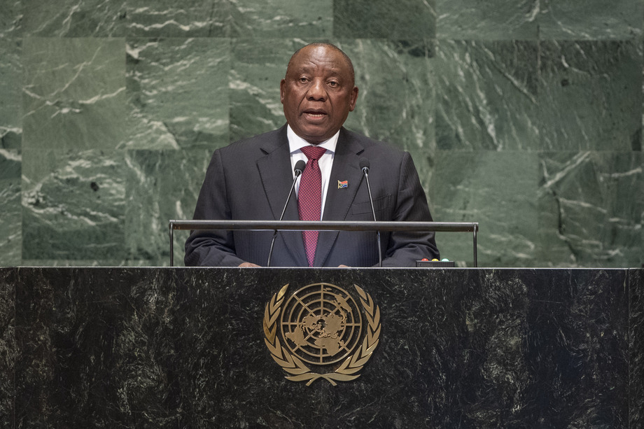 H.E. Mr.Matamela Cyril Ramaphosa