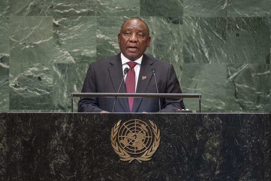 S.E. M.Matamela Cyril Ramaphosa