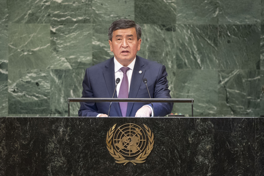 S.E. M.Sooronbai Jeenbekov