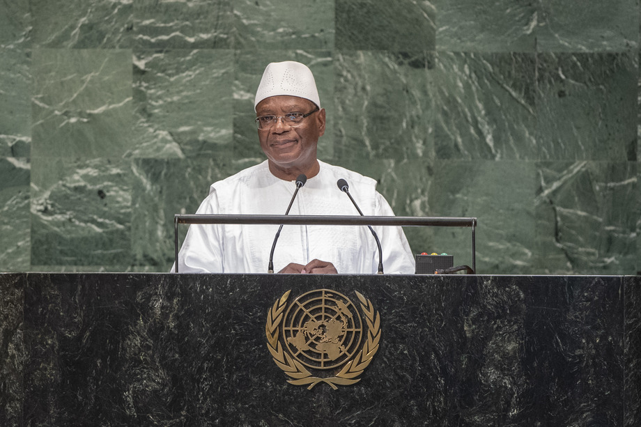 S.E. M.Ibrahim Boubacar Keita