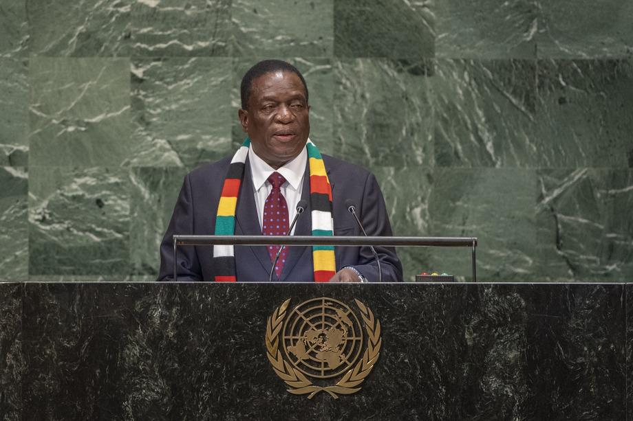 H.E. Mr.Emmerson Dambudzo Mnangagwa