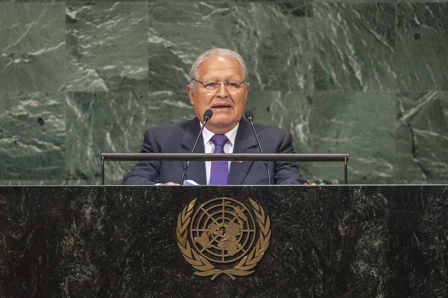 H.E. Mr.Salvador Sánchez Cerén
