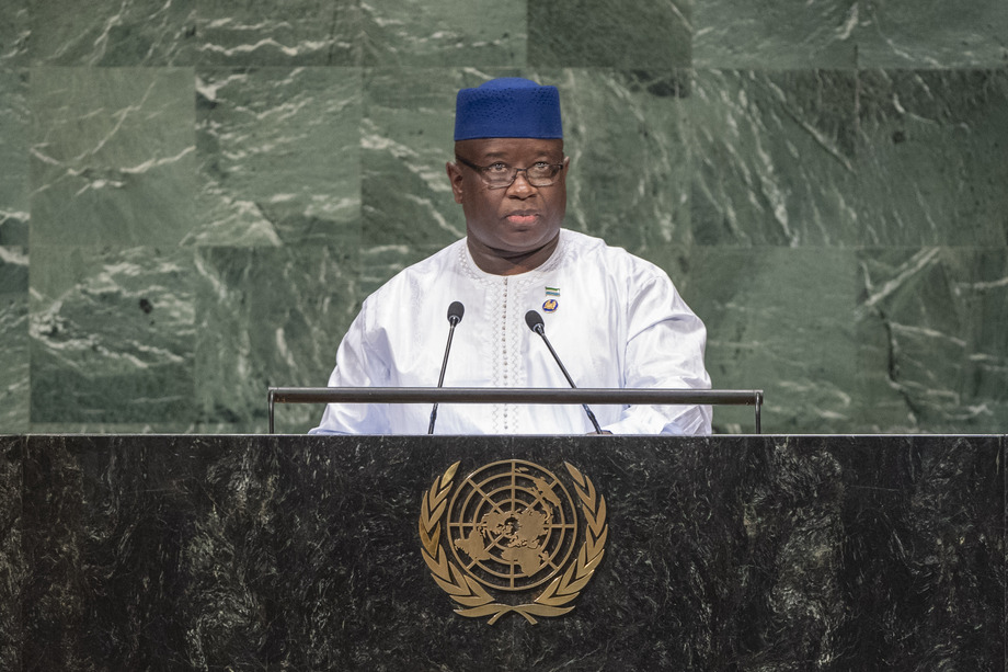 H.E. Mr.Julius Maada Bio