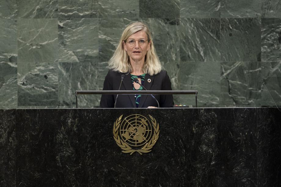 H.E. Mrs.Ulla Tørnæs