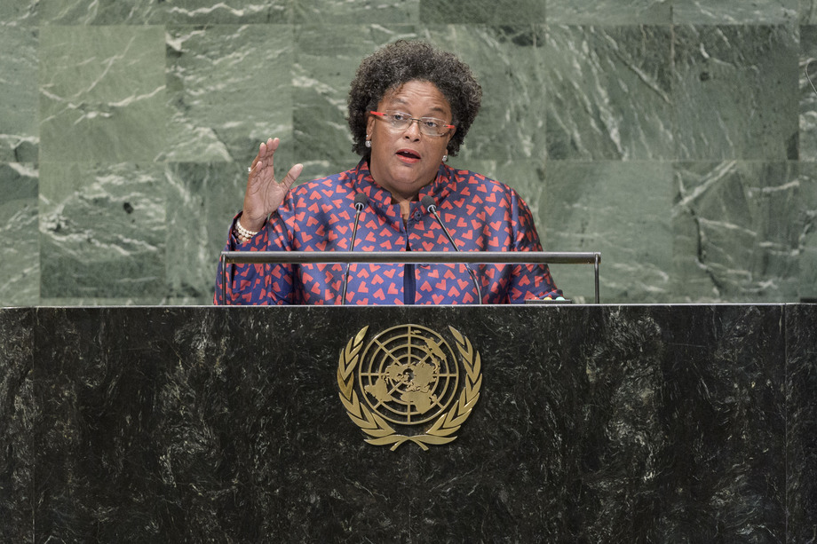 H.E. Mrs.Mia Amor Mottley