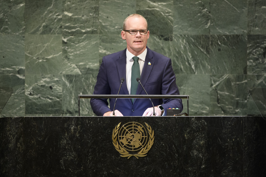 H.E. Mr.Simon Coveney