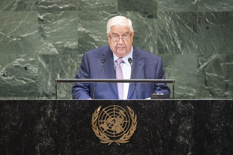 S.E. M.Walid Al-Moualem