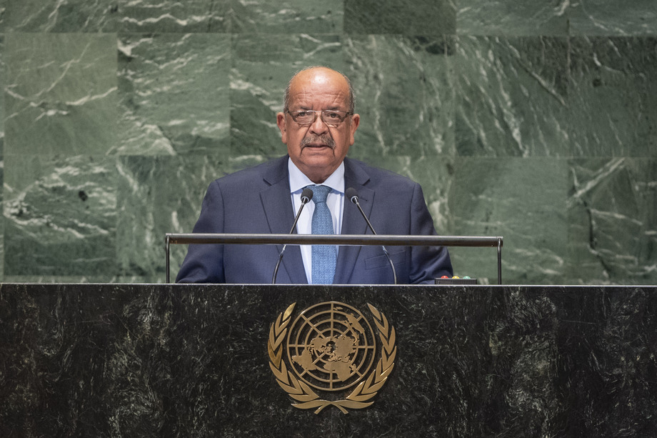 H.E. Mr.Abdelkader Messahel