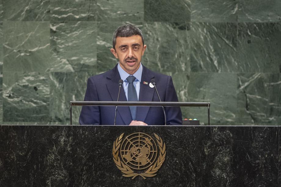 S.M.Sheikh Abdullah Bin Zayed Al Nahyan