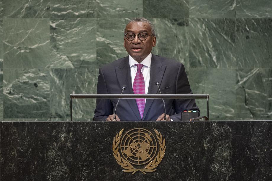 H.E. Mr.Sidiki Kaba