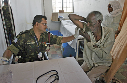 United Nations Peacekeepers Extend Free Medical Care to Local Population