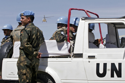 Peacekeepers Welcome Special Representative, Force Commander