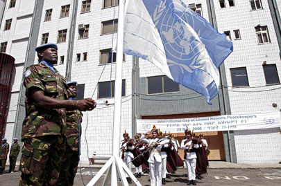 UNMEE Observes International Day of UN Peacekeepers