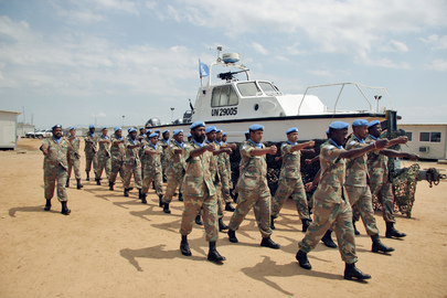 South African Peacekeepers' Farewell and Medal Parade