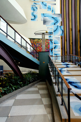 united nations photo pre cmp visitors lobby stairs to first basement rh unmultimedia org