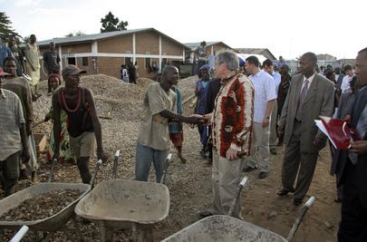 World Bank President Visits Burundi