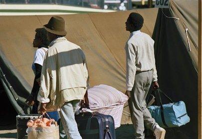 Namibian Exiles Return to Namibia as Part of Voluntary Repatriation Movement