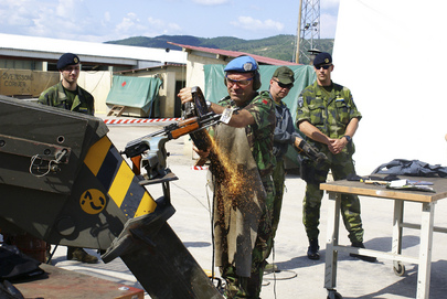 UNDP Sponsored Programme Destroys Confiscated Weapons in Kosovo