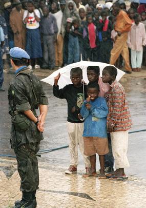 UNAVEM III Peace-Keeping Soldier in Angola
