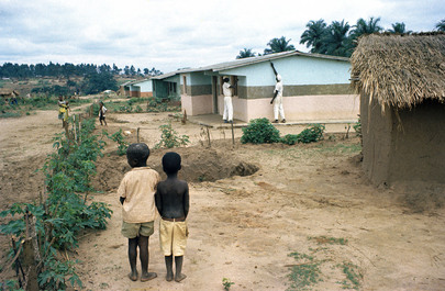 """Congo (Leopoldville) Encourages """"Self-Help"""" Projects by People"""