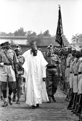 Nigerian Prime Minister Visits Congo (Leopoldville)