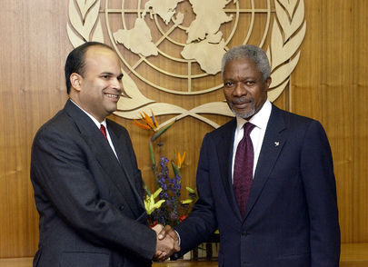 Secretary-General Meets with Minister in Charge of Peace Talks in Sri Lanka