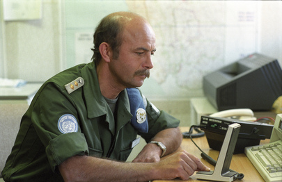Member of Federal Republic of Germany UNTAG Civilian Police Unit