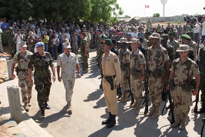United Task Force Transfers Operational Authority to Second United Nations Operation in Somalia (UNOSOM II)