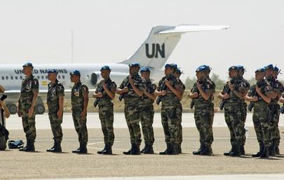 MINURCAT Military Take Over from EURFOR