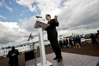Inauguration of Goma Runway ReConstruction
