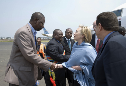 US Secretary of State Meets Eastern Coordinator of MONUC in Goma